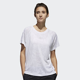 Áo Thun Thể Thao Nữ Adidas App M4T Burnout Tee 060619