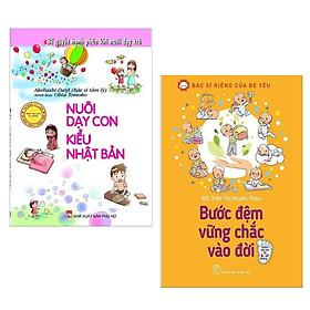 Combo Sách Nuôi Dạy Con Hiệu Qủa: Bước Đệm Vững Chắc Vào Đời + Nuôi Dạy Con Kiểu Nhật Bản (Bộ Sách Theo Chuẩn Kinh Nghiệm Người Nhật / Tặng kèm Bookmark Green life)