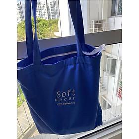 Túi Tote - Soft Decor Cobalt Canvas Tote Bag