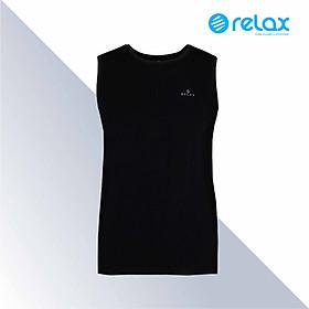 Áo Thun Nam Relax RTKA027 Cổ Tròn,Không Tay-Chất Liệu Cotton Co giãn