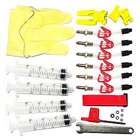 Bicycle Hydraulic Disc Brake Bleed Kit Tool Bike Brake Bleeder Kit