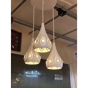 Đèn thả GOMNE trang trí nội thất hiện đại - 3 màu ánh sáng