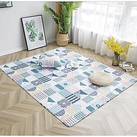 Thảm cotton trải sàn Nhật Bản phù hợp cho bé vui chơi PA9260