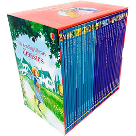 Usborne My Reading Library : Classics (Box Set Contains 30 Books)