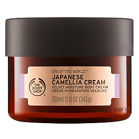 Kem Dưỡng Thể The Body Shop Japanese Camellia Spa Of The World (350ml)