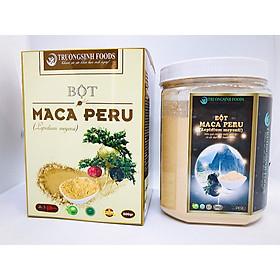 Hũ Sâm Bột từ củ Maca Peru màu Đen - Lepidium Meyenii thượng hạng