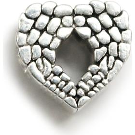 Charm bạc 950 Fascino ngăn cửa trái tim