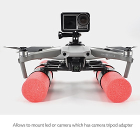 Compatible with DJI Mavic Air 2 Drone Float Holder Landing Gear Buoyancy Stick Bracket Heighten Extender Holder Training