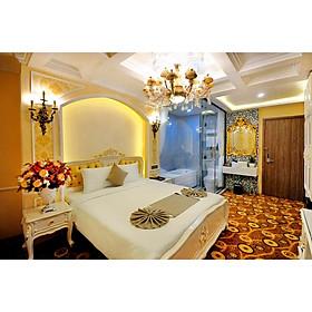 Voucher combo du lịch hạng phòng President 3 ngày 2 đêm tại Alpha Bird Hotel Nha Trang