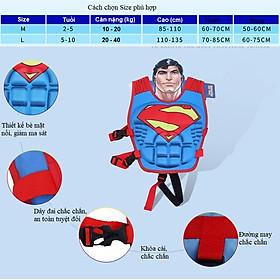 Phao bơi trẻ em, áo phao bơi FROZEN (Bé từ 2 - 10 tuổi) - POKI-1