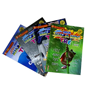 Combo Sách Song Ngữ Nhà Khoa Học Trẻ (9-10 Tuổi)