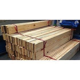 1 thanh gỗ thông dài 110cm, rộng 9cm, dày 1.5cm bào nhẵn 4 mặt