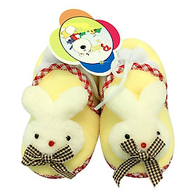 Giày Sơ Sinh Baby Rainbow Bảo Thịnh - Vàng (11cm)