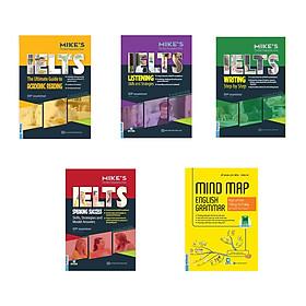 Bộ sách Mike's học IELTS toàn diện ( Tặng kèm Mindmap English Grammar - Ngữ pháp tiếng Anh bằng sơ đồ tư duy)