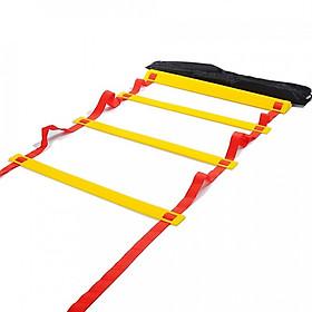 Thang dây thể thao luyện thể lực bóng đá RED Yellow, dây tập thể lực - DONGDONG