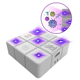 Ultraviolet Sterilizer Cube Portable UV Light Toothbrush Mobile Phone Underwear Sterilization USB Charging Ultraviolet