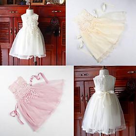 Đầm xoè voan nhiều lớp sang trọng cho bé gái 1-6 tuổi từ 12 đến 22 kg 02610-02612