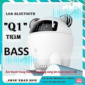 Loa bluetooth thông minh Q1 ấm - trầm - bass
