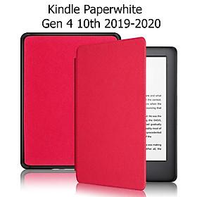 Bao Da Cover Cho Máy Đọc Sách Kindle Paperwhite Gen 4 10th 2019 Nhựa Xước
