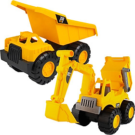 Xinxing engineering car toy child baby large excavator dump truck beach loading soil forklift resistant fall backhoe bulldozer boy toy model boy holiday gift