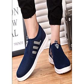 Giày sneaker nam ôm chân 3 vạch sọc