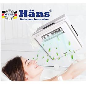 Quạt mát âm trần H10S -Hans -  Hàng chính hãng