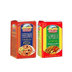 Combo 2 Bột Chuyên Làm Bánh Semola 1000gr + Farina 1000gr