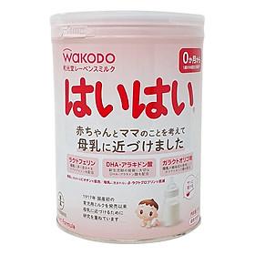 Sữa Bột Wakodo Nội Địa Haihai Infant Formula Dành Cho Trẻ Từ 0 - 12 Tháng Tuổi (810g)