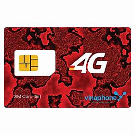 SIM 4G Vinaphone D60G Khuyến Mãi 60GB/Tháng, Gọi Miễn Phí Nội Mạng Không Giới Hạn Cộng Thêm 50 Phút Gọi Ngọai Mạng Mỗi Tháng Chỉ Với 120.000đ / Tháng- Hàng Chính Hãng - Mẫu ngẫu nhiên