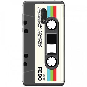 Hình đại diện sản phẩm Ốp lưng dành cho Nokia 6 mẫu Cassette xám trắng
