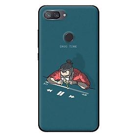 Ốp in cho Xiaomi Mi 8 Lite Hít Nhạc - Hàng chính hãng