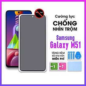 [Miếng dán màn hình] Kính Cường Lực Chống Nhìn Trộm Dành Cho Samsung Galaxy M51- Hàng Chính Hãng