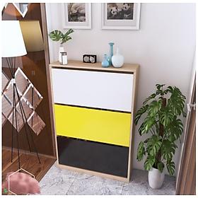 Tủ giày thông minh thiết kế cách điệu màu sắc đẹp mắt FNL-20.5