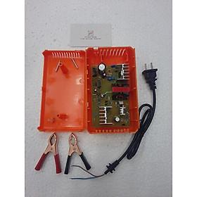 Combo lắp ráp bộ sạc ắc quy 12V - 6A sạc cho bình dưới 100AH