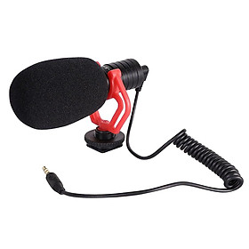 Portable Camera Mic Video Windshield for DSLR Camera Camcorder W/ 3.5mm Jack