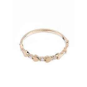 Nhẫn vàng DOJI cao cấp 14K 0819R-LAL350