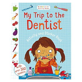 My First Trip To The Dentist Activity And Sticker Book