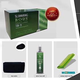Bộ Ủ Nóng giảm Mỡ SLIMMING BODY 2 hỗ trợ giảm mỡ Bụng Đùi Hiệu Quả - Bản Limited Upsize tinh dầu