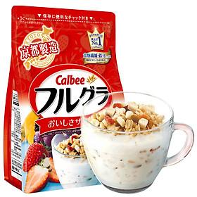Ngũ cốc trái cây ăn liền Calbee (gói đỏ) - Loại 700gr - Nhập khẩu Nhật Bản