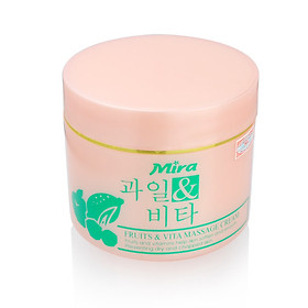 Kem Massage Mira Fruits & Vita Massage Cream (300ml)