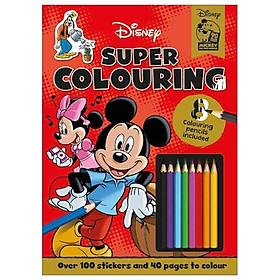 Disney Classics - Mickey Mouse: Super Colouring (Colouring Time Xtra Disney)