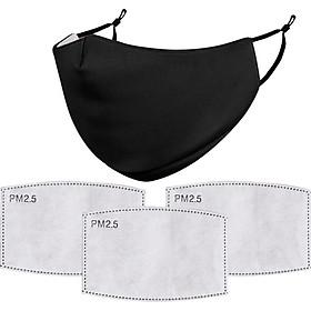 Unisex Adults Reusable Mask Anti-dust PM 2.5 Haze Filter Cover