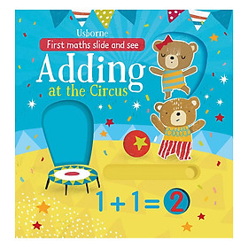 Usborne First Maths Slide and See Adding at the Circus