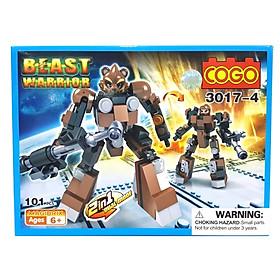 Mô Hình COGO Các Loại Robot 3017 - Mẫu 1