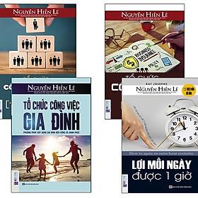 Combo Biến Thời Gian Thành Vàng - Tủ Sách Nguyễn Hiến Lê
