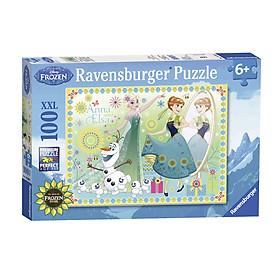 Hình đại diện sản phẩm Xếp Hình Puzzle Công Chúa Băng Giá Ravensburger RV10584 7 (100 Mảnh)