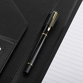 A4 Conference Folder PU Leather Document Organiser Folder with Calculator A