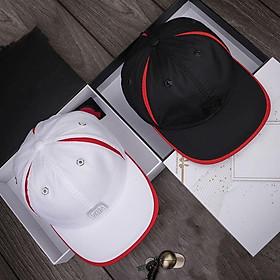 Combo 2 nón kết sơn, mũ cặp, nón cặp khía trắng đỏ và đen đỏ hàng mới nhập - NC517