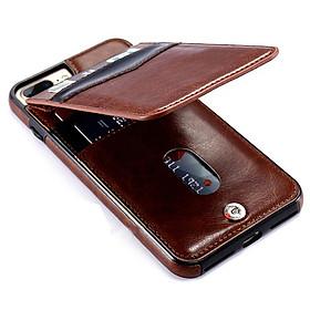 Bao da Iphone 6/6 Plus/ 6s Plus/ 7/7 Plus/ 7s Plus/ 8/8 Plus kiêm ví tiền đựng thẻ, card rất tiện lợi