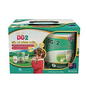 Combo 2 lon Sữa dê công thức DG-2 Goat Milk Follow-On Formula